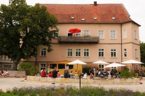 Schlosscafe außen