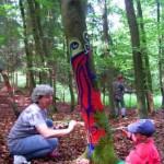 Im Kreativcamp konnten Kinder und Erwachsene zusammen ihre künstlerischen Fähigkeiten voll ausleben …