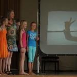 Schulfest Segeltörnpräsentation