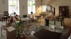 Rohbauparty im zukünftigen SchlossCafé
