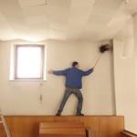 Hausputz in der ehemaligen Kapelle