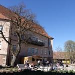 Frühling vorm Schloss