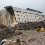 Earthship im November