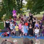Große Träume auf der Bühne – unser Circus von und mit Alexandra und vielen kleinen und großen Kindern hatte wieder einen großen Auftritt.
