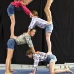 Akrobatik beim Circus der Träume