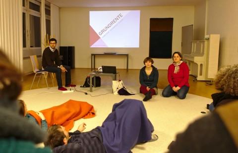 Lukas Kunert, Sarah Mewes und Martina Jacobson (Tempelhof)